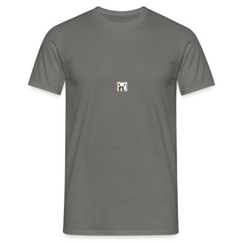 rainbow puke - Koszulka męska