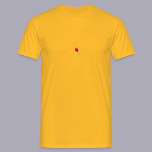 Tulip Logo Design - Men's T-Shirt
