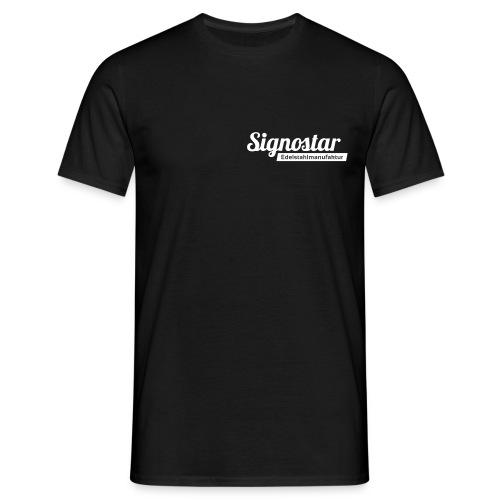 Signostar Edelstahlmanufa - Männer T-Shirt