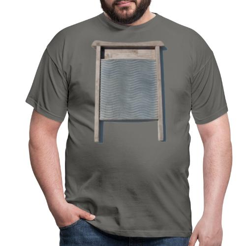 Vaskebræt - sixpack - Herre-T-shirt
