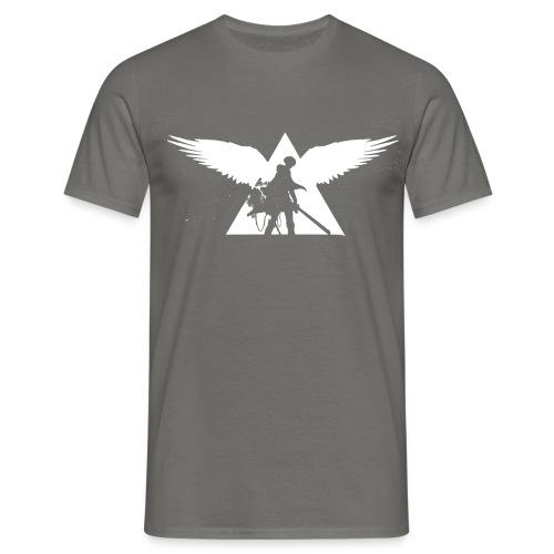 Transparent white png - Männer T-Shirt