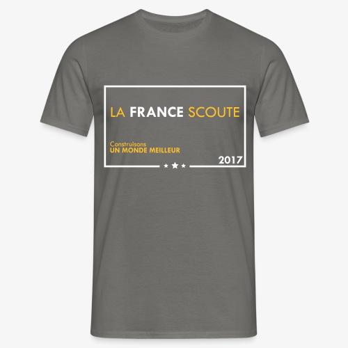 La France Scoute - T-shirt Homme
