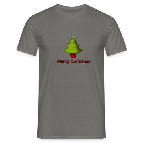 Merry Christmas Design von HoHoHo Merch - Männer T-Shirt