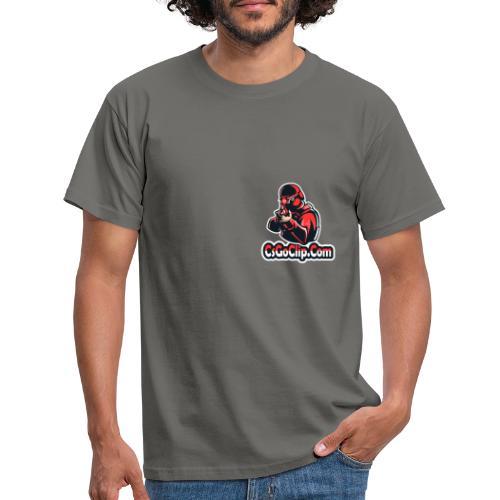 CSGO clip logo - T-shirt herr