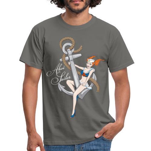Ahoi Sailor - Männer T-Shirt