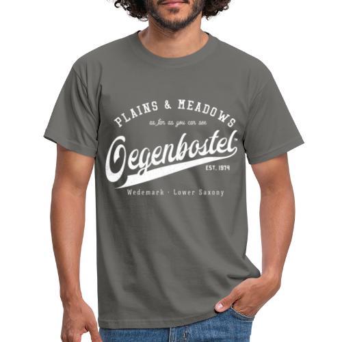 Oegenbostel Retrologo - Männer T-Shirt