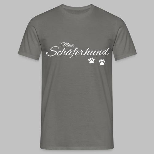 Mein Schäferhund - T-Shirt - Hoodie - Pullover - Männer T-Shirt