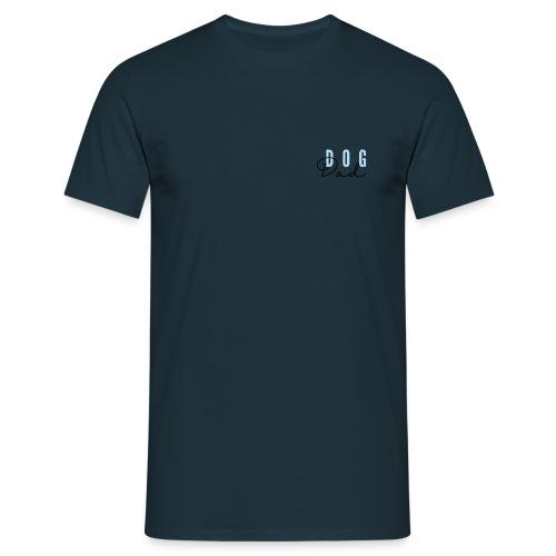 Blue Dog Dad - T-skjorte for menn