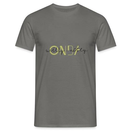 onda willy nilly - Männer T-Shirt