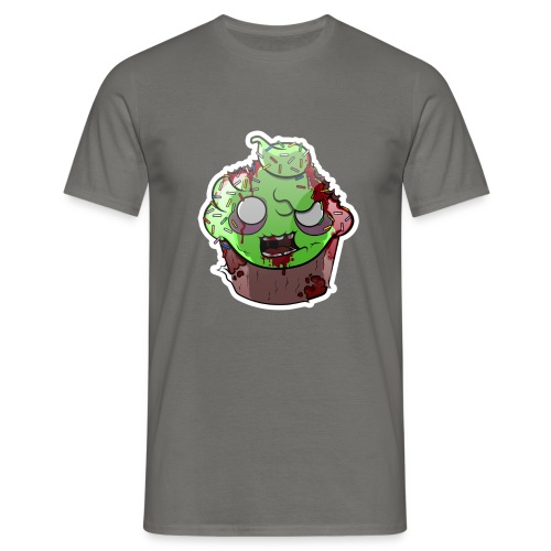 Cupake zombie couleur - T-shirt Homme