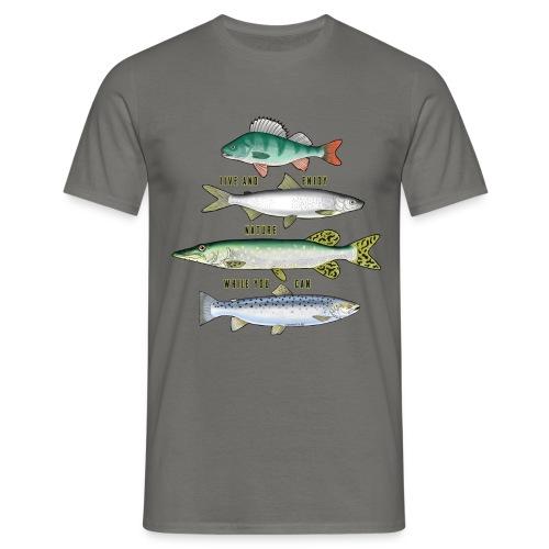 FOUR FISH - Tekstiili- ja lahjatuotteet (10-34B) - Miesten t-paita