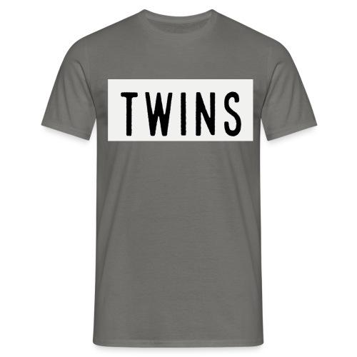 Plain TWINS T-shirt - Men's T-Shirt