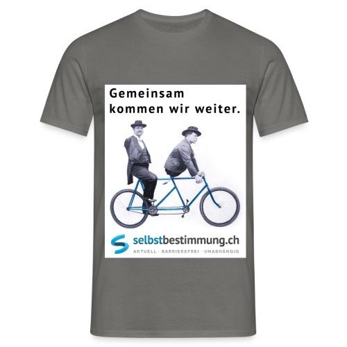 Gemeinsam weiterkommen - Männer T-Shirt