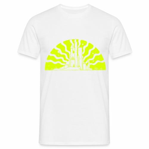 Fairytale Castle Sunrise - Männer T-Shirt
