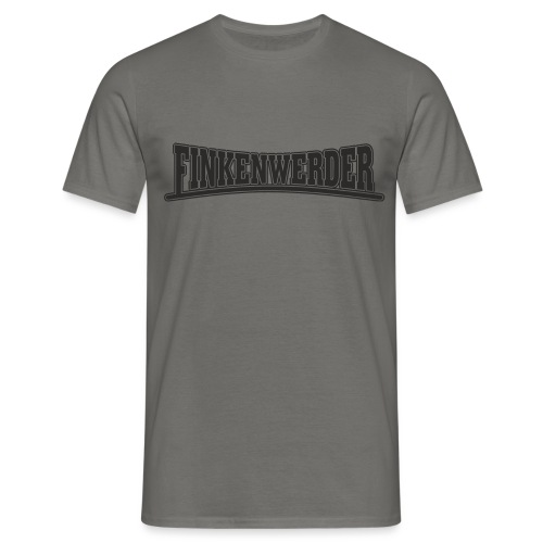 Finkenwerder schwarz - Männer T-Shirt