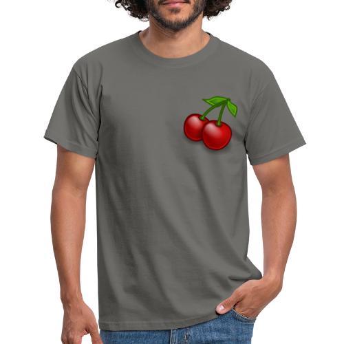 Kirschen Früchte Obst Geschenkidee - Männer T-Shirt