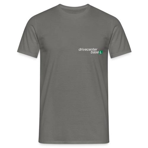 drive center logo black - Männer T-Shirt