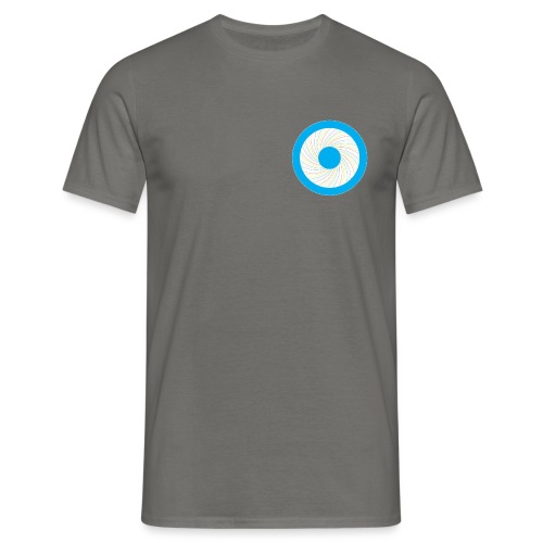 Tanzender_Engel_rund - Männer T-Shirt
