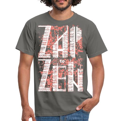 zap to zen wit - Mannen T-shirt