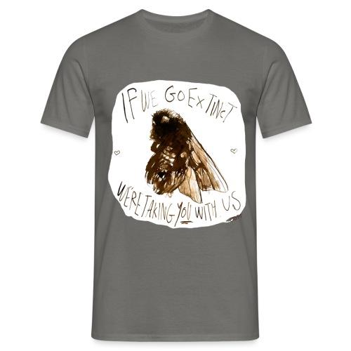 the bee - Men's T-Shirt