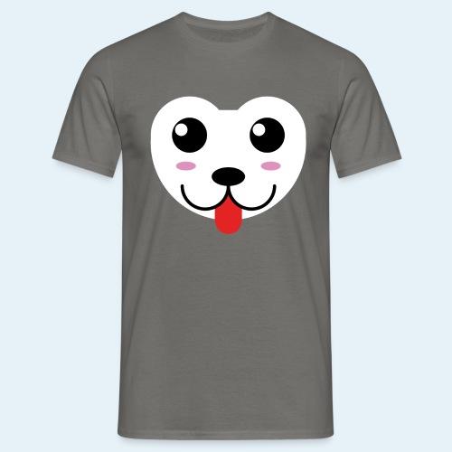 Husky perro bebé (baby husky dog) - Camiseta hombre