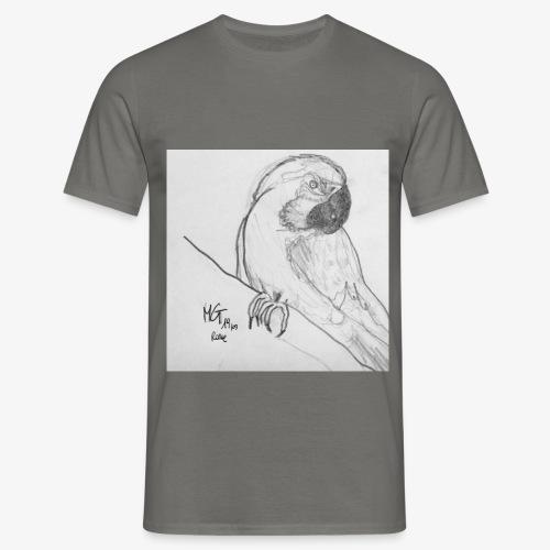 Pappagallo Sketch - Maglietta da uomo