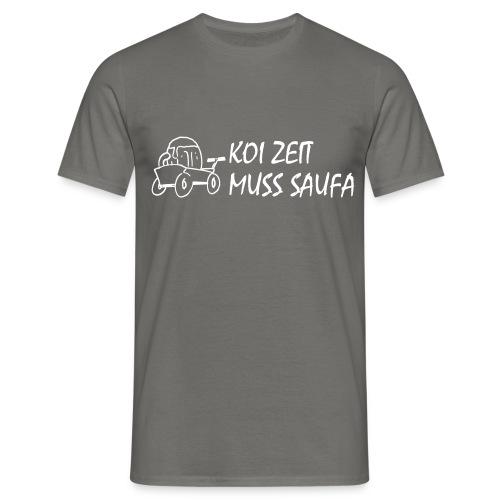 KoiZeit Saufa - Männer T-Shirt
