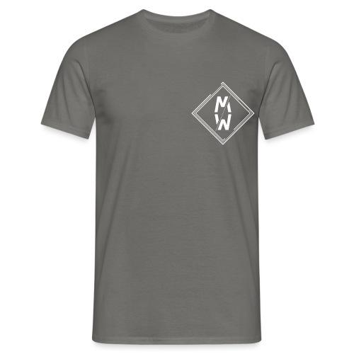 Wild Emblem White - Men's T-Shirt