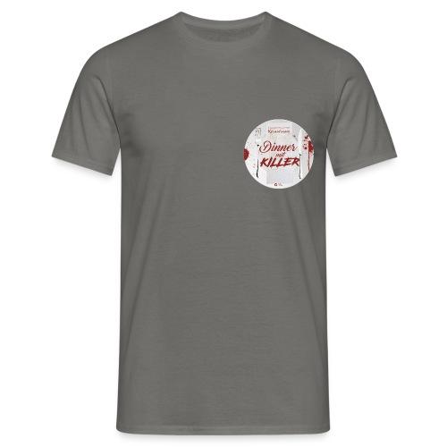 DINNER MIT KILLER und MESSER - Männer T-Shirt