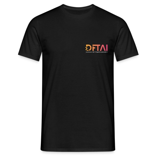 dftai white - Männer T-Shirt