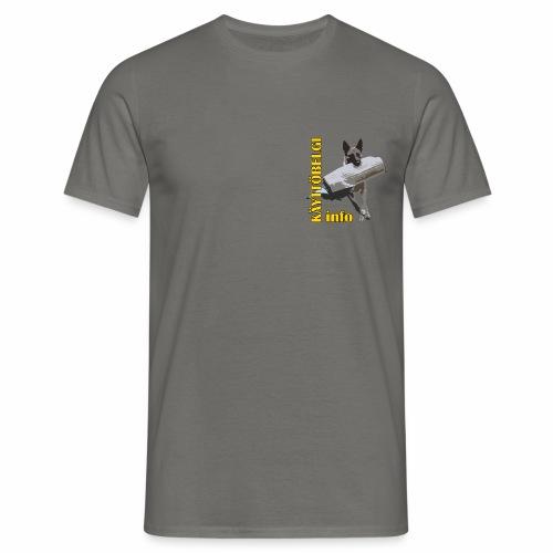 Käyttöbelgi.infon logotuotteet - Miesten t-paita
