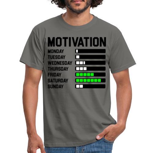 Wochen Motivation - Männer T-Shirt