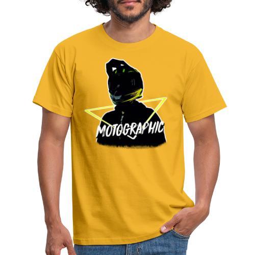 Mannen T-shirt - mijn hoofdje door een driehoekje