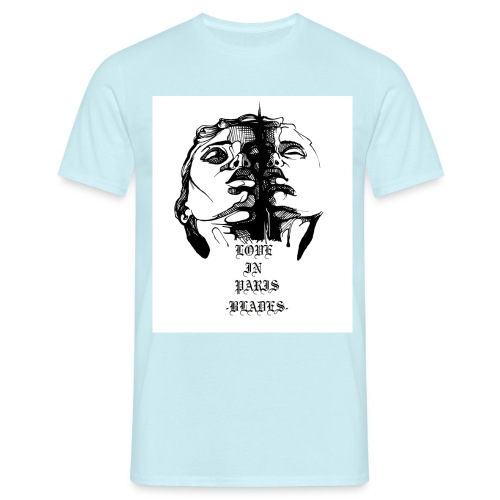 Love in paris JPG - Männer T-Shirt