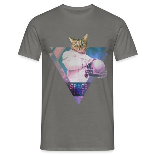 SPACE CAT - Katze aus dem All - Männer T-Shirt