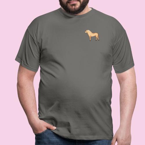 Fjordhäst stående - T-shirt herr
