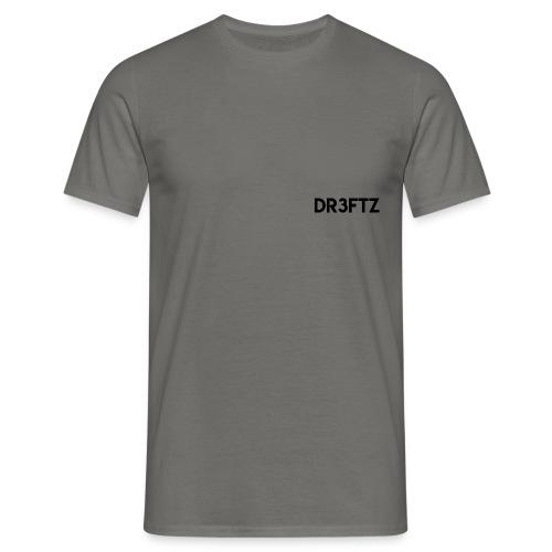 dr3ftz merch name - T-shirt herr