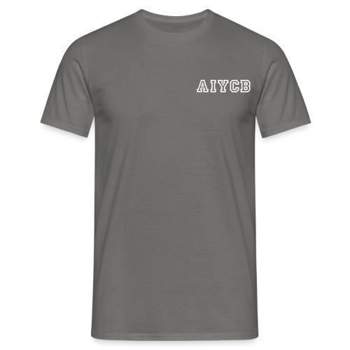 Blau_AIYCB-05 - Männer T-Shirt