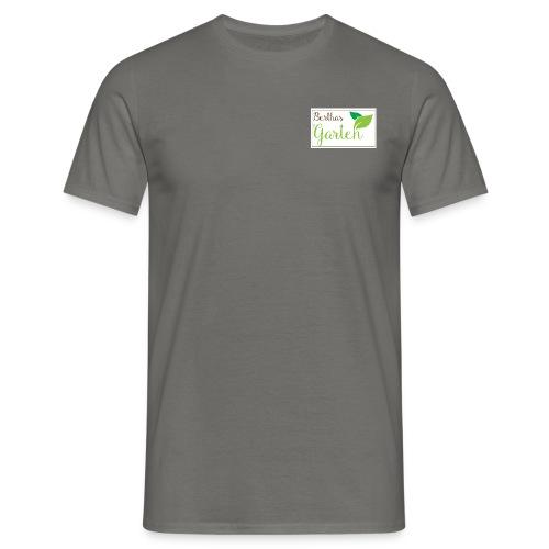 Berthas Garten-Banner fre - Männer T-Shirt