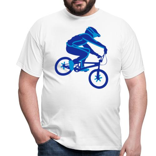 BMX Rider Dark - Mannen T-shirt