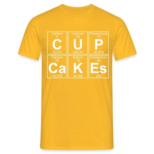 C-U-P-Ca-K-Es (cupcakes) - Full - Men's T-Shirt