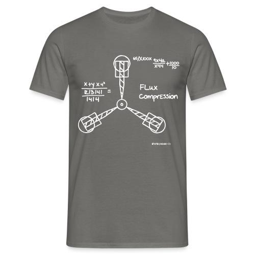 Fluxkompensator | Logo - Männer T-Shirt