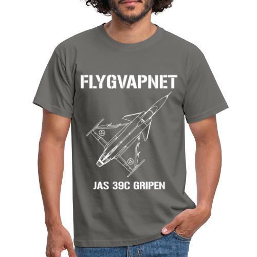 FLYGVAPNET - JAS 39C - T-shirt herr