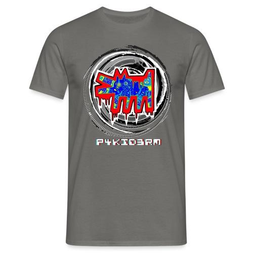 p4kiderm cane ROSSO - Maglietta da uomo