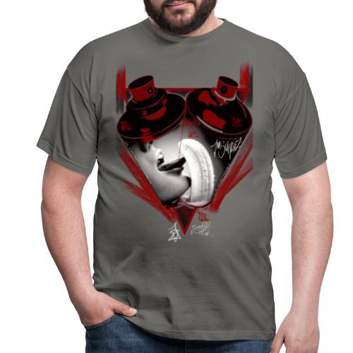 grafiti - Camiseta hombre