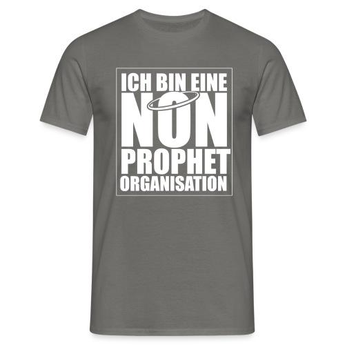 Non-Prophet Organisation (weiss) - Männer T-Shirt