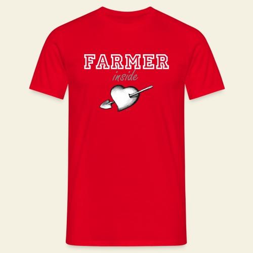 hearth farmer white - Maglietta da uomo