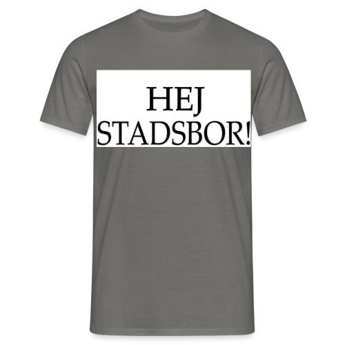 Hej Stadsbor - T-shirt herr