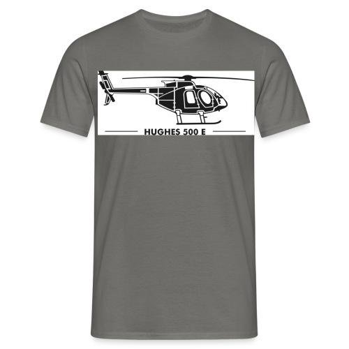 hughes500e - Männer T-Shirt