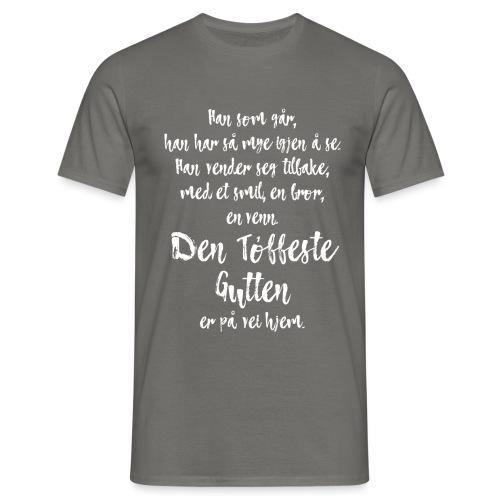 Den tøffeste gutten - T-skjorte for menn